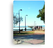 Urangan Jetty  Hervey Bay Australia Canvas Print