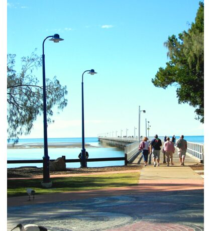 Urangan Jetty  Hervey Bay Australia Sticker