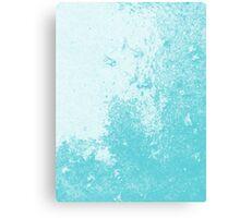 Earth Sweat Design (Shakespeare Blue Color) Canvas Print