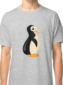 Funny yellow penguin cartoon Classic T-Shirt