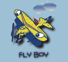 Fly Boy T-shirt & leggings design Baby Tee