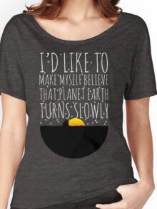 OWL CITY FIREFLIES QUOTE Women's Relaxed Fit T-Shirt