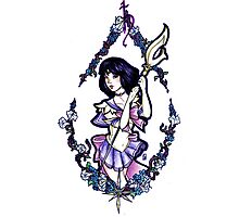 Sailor Saturn Photographic Print