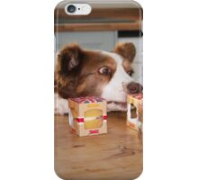 Cake, Not to be sniffed at! iPhone Case/Skin