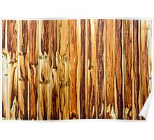 Wall of Wood Poster