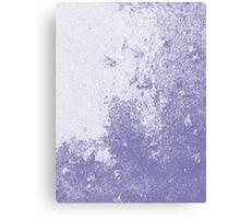 Earth Sweat Design (Scampi Purple Color) Canvas Print