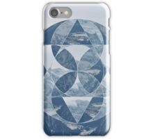 puzzle mountain iPhone Case/Skin