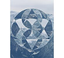 puzzle mountain Photographic Print