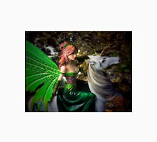 Glimpse of a woodland fairy by the stream T-Shirt