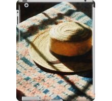 Hat on Bed iPad Case/Skin