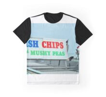 English holiday-maker in Brighton Graphic T-Shirt