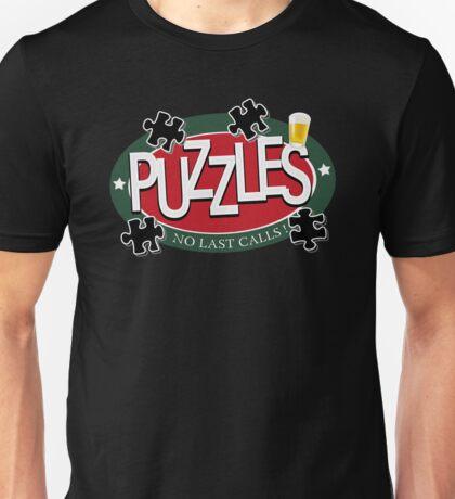 PUZZLES BAR - NO LAST CALLS! Unisex T-Shirt