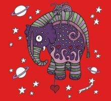 Interstellar Elephant Tee One Piece - Short Sleeve