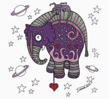Interstellar Elephant Tee Kids Tee