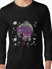 Interstellar Elephant Tee Long Sleeve T-Shirt
