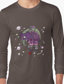 Interstellar Elephant Tee Long Sleeve T-Shirt