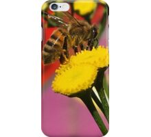 Tansy Bee - Macro iPhone Case/Skin