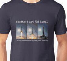 SpaceX rocket landing Unisex T-Shirt