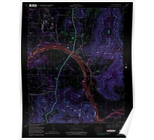 USGS TOPO Map Alabama AL Farley 303819 1964 24000 Inverted Poster