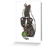 The Scented Skunk Greeting Card