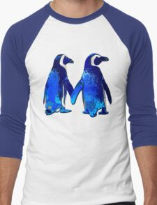 Tux love Men's Baseball ¾ T-Shirt