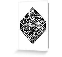 LUCHA Greeting Card
