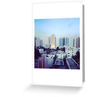 Miami Beach Sunrise Greeting Card