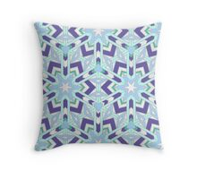 Chilling Ice Throw Pillow