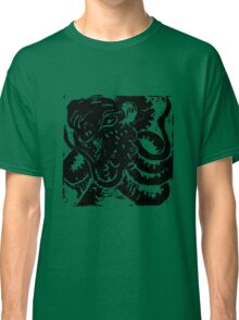 Octopus - Museum Linocut Collection Classic T-Shirt