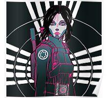 Star Wars Rogue One - Jyn Erso Poster