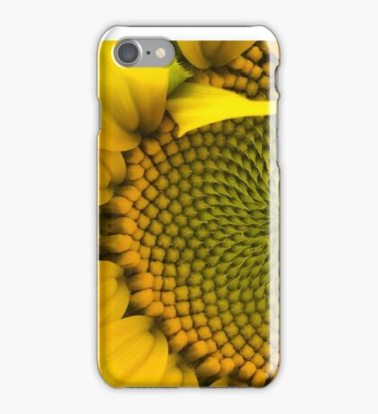Sunflower - Macro iPhone Case/Skin