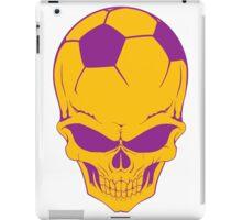 Sport death football iPad Case/Skin