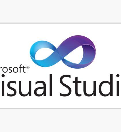 microsoft visual studio programming language Sticker