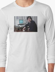 Steve Jobs and the Lisa Long Sleeve T-Shirt