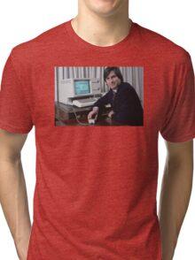 Steve Jobs and the Lisa Tri-blend T-Shirt