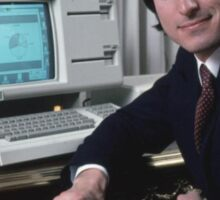 Steve Jobs and the Lisa Sticker