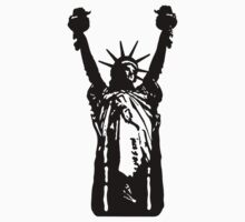 Modified statue of liberty Baby Tee