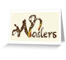Wailers Lion Zion  Greeting Card