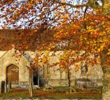 Codford St Mary Church, Wiltshire, United Kingdom. Sticker