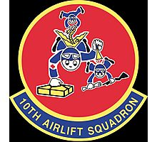 10th Airlift Squadron - US Air Force Photographic Print