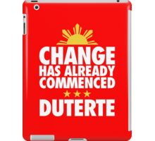 Duterte - 16th Philippine President iPad Case/Skin