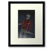 Maybe I Did Eat People Framed Print