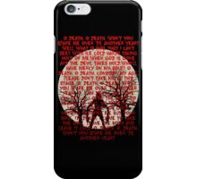 Until Dawn - Oh Death  iPhone Case/Skin