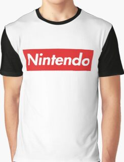 "Nintendo ""sup"" style Graphic T-Shirt"