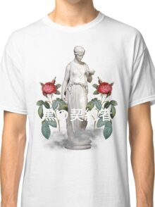 kanji greek vaporwave aesthetics Classic T-Shirt