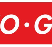 "Neo Geo ""sup"" Style Sticker"