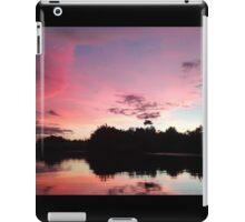 a beautiful sunset in Asia iPad Case/Skin