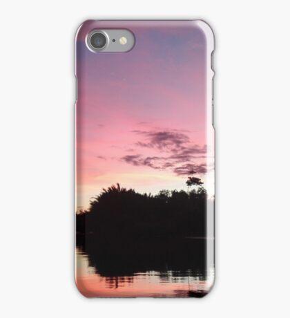 a beautiful sunset in Asia iPhone Case/Skin