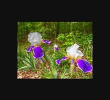 Bi-color Iris Blooms And Buds Unisex T-Shirt