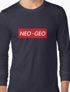 "Neo Geo ""sup"" Style Long Sleeve T-Shirt"